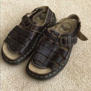 Dr. Marten leather sandals